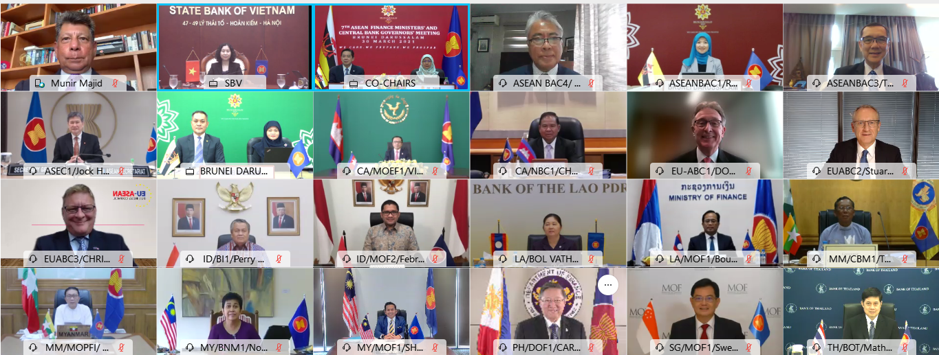 Joint Statement of the 7th ASEAN Finance Ministers and  Central Bank Governors' Meeting (AFMGM)
