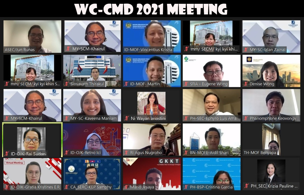 Working Committee on Capital Market Development Meeting, 22 – 23 September 2021, Video Conference